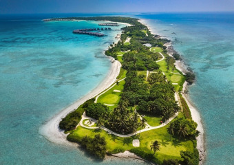 The Villingili Golf Course