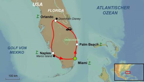 Golf Rundreise USA Florida Best Of