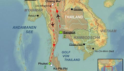 Golf Rundreise Best of Thailand