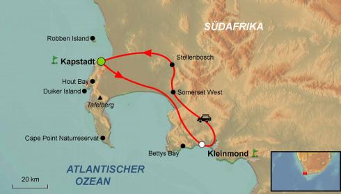 Golf Rundreise Südafrika Grand Cape (Selbstfahrer)
