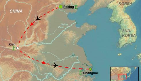 Golf Rundreise China