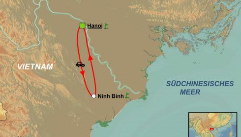 Golf Rundreise Nord Vietnam