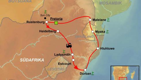 Golf Rundreise Südafrika mit der Rovos Rail