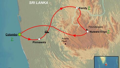 Golf Rundreise Sri Lanka