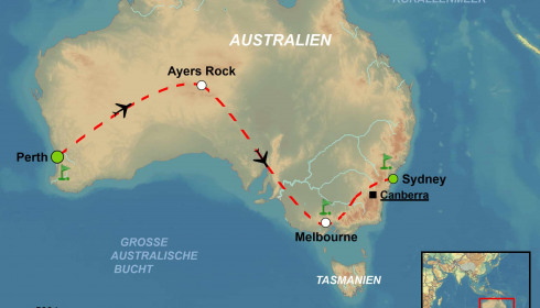 Golf Rundreise Australien