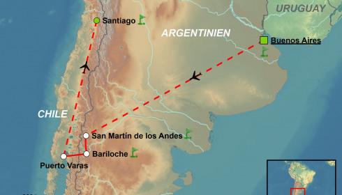 Golf Rundreise durch Argentinien & Chile