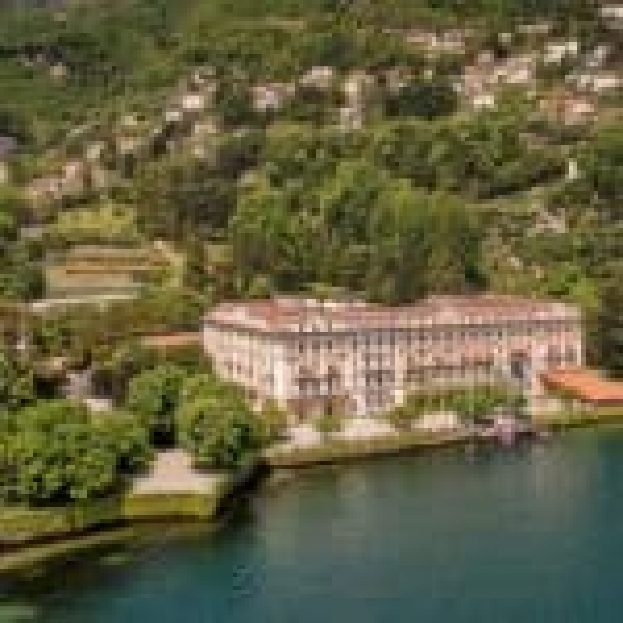 Villa d`Este - Cernobbio Lombardei Italien - Green Golf